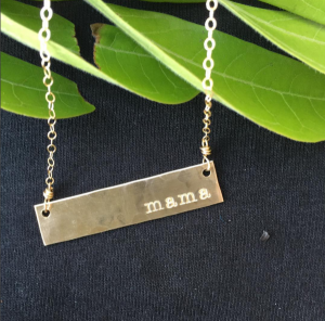 Jewelry Gift for Pregnant Moms | Mama Bird Blog