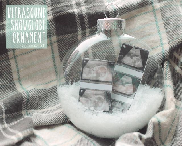 Mama Bird Box Pregnancy Snowglobe