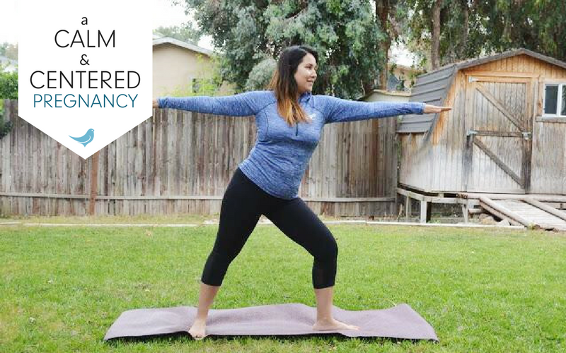 a calm and centered pregnancy | the power of yoga during pregnancy | mama bird box