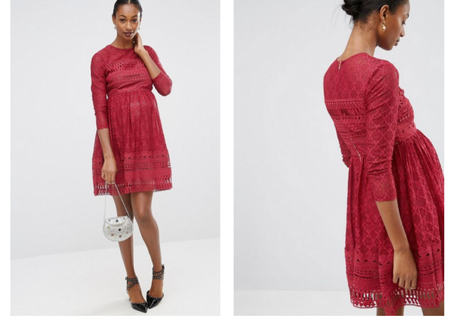 7 Holiday Party Maternity Dresses That Will Show Off Your Baby Bump In Style Mama Bird Box Blog